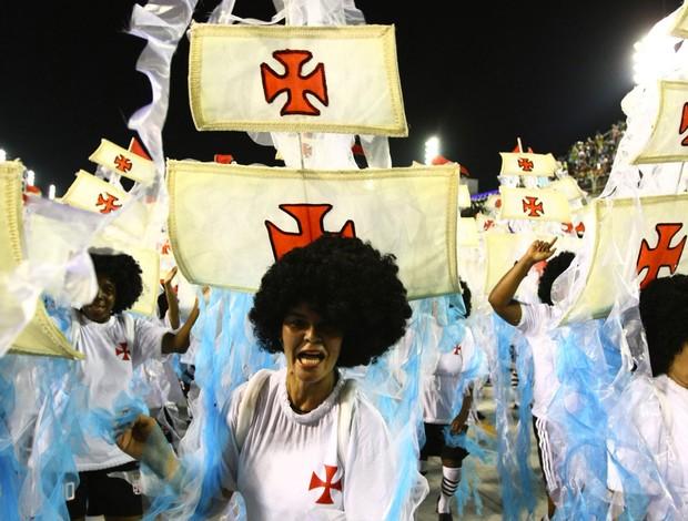 Paraiso do tuiuti carnaval ala vasco da gama (Foto: Alexandre Brum / Agência Estado)