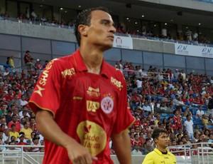 Alfredo, atacante do América-RN (Foto: Augusto Gomes)