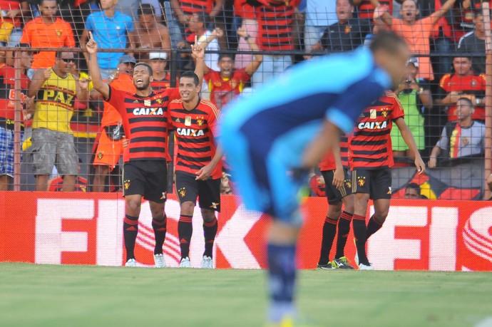 Sport x Fortaleza gol do Sport (Foto: Aldo Carneiro/Pernambuco Press)