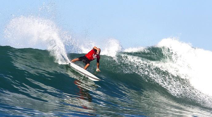 Kelly Slater, etapa de Trestles do Circuito Mundial de Surf (Foto: Agência AP)