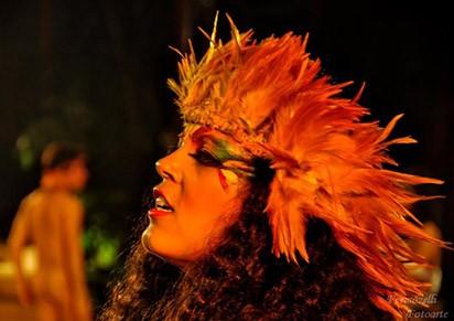 Peça apresenta elementos indígenas (Foto: Divulgação)