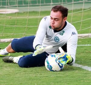 Renan, goleiro do Goiás (Foto: Rosiron Rodrigues/Goiás E.C.)