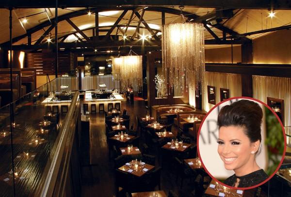 A atriz Eva Longoria foi a dona do restaurante especializado em cozinha americana Beso, em Los Angeles, até 2011 (Foto: Getty Images / Divulgação)
