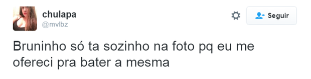 Comentários sobre Bruninho e David Brazil (Foto: Reprodução/Twitter)