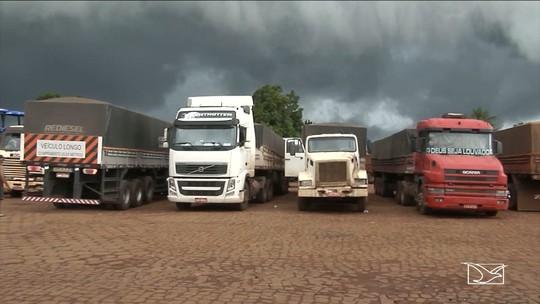 Veículos pesados voltam a circular após suspensão de restrição do tráfego no MA