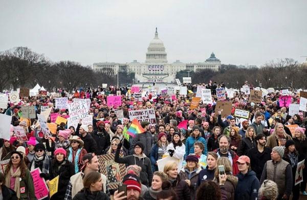 Women's March em Washington (Foto: Reprodução Instagram)