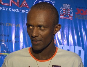 jair josé, jair josé da silva, meia maratona cabo branco, cabo branco (Foto: Reprodução / TV Cabo Branco)