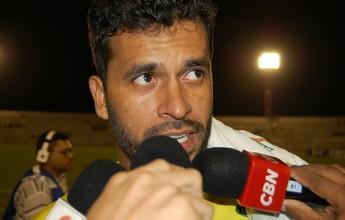 """Glédson reclama de empate contra o Botafogo-PB: """"Sentimento de derrota"""""""