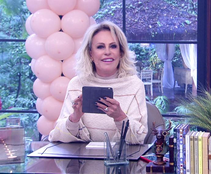 Ana Maria fala sobre os filhos que são viciados em games (Foto: TV Globo)