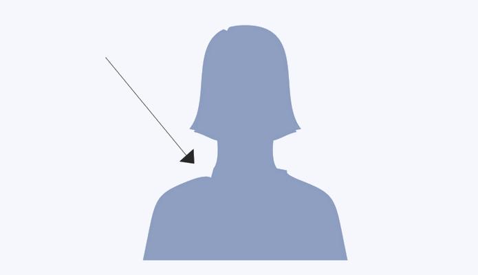 Arquivo original antigo do ícone de mulher do Facebook (Foto: Divulgação/Caitlin Winner)