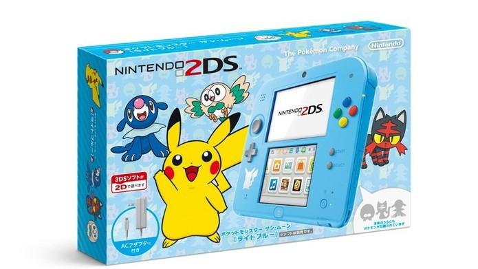 Edição especial do 2DS (Foto: Divulgação/Nintendo)