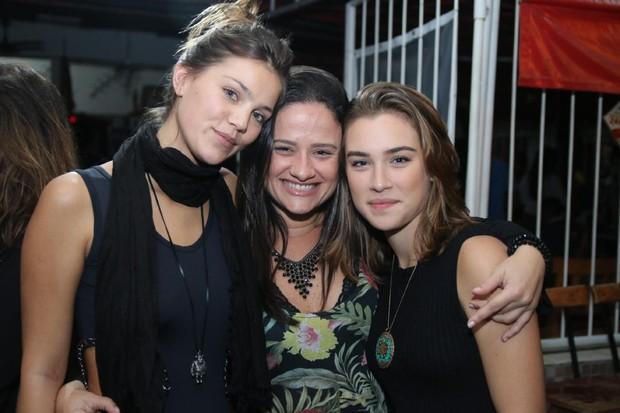Cynthia Senek, Amanda de Godoi  e Marcela Fetter (Foto: Daniel Pinheiro/AgNews)