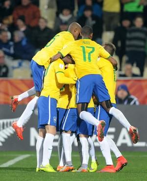 Brasil x Coreia do Norte Mundial Sub-20 (Foto: AP)