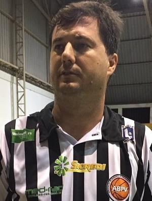 Flávio Prado, técnico do Venceslau (Foto: Murilo Rincon / GloboEsporte.com)