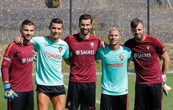 Cristiano Ronaldo, Bale... Craques já treinam para rodada das eliminatórias