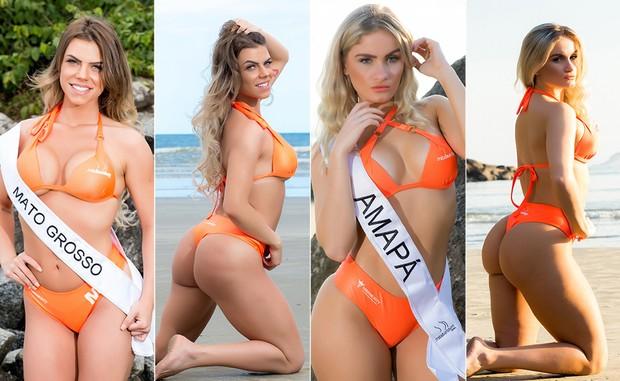 Miss-Bumbum-14--Natasha-Morrone-e-Luciana-Beltrame (Foto: Nelson Miranda / MBB6)