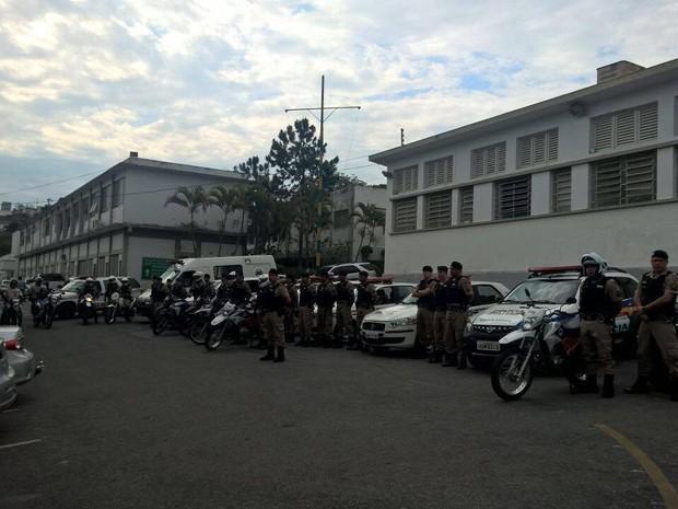 Polícia Militar aumenta efetivo nas ruas de Divinópoli (Foto: Polícia Militar/Divulgação)