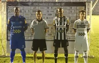 Com escola de samba, Tupi-MG apresenta uniformes para 2016