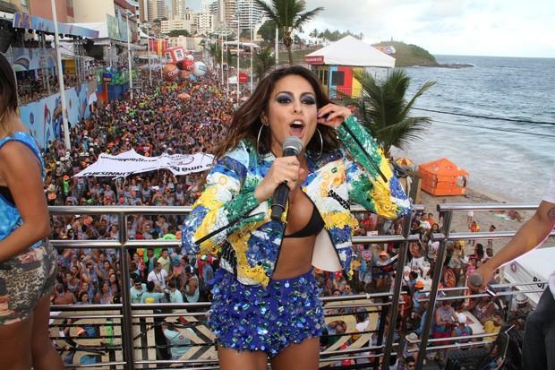 Show de Alinne Rosa em Salvador (Foto: Dilson Silva / Agnews)