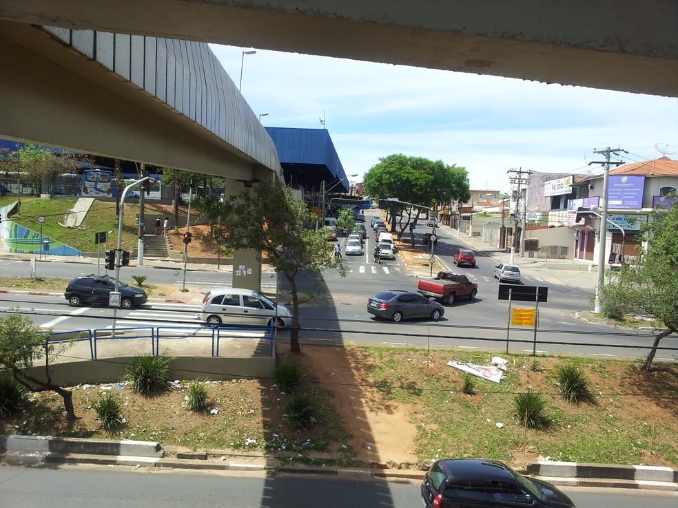 Região do distrito do Ouro Verde, em Campinas, terá desapropriações (Foto: Maurício Barbosa / G1)