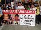 Ato pede apoio ao impeachment da presidente Dilma, em Belém