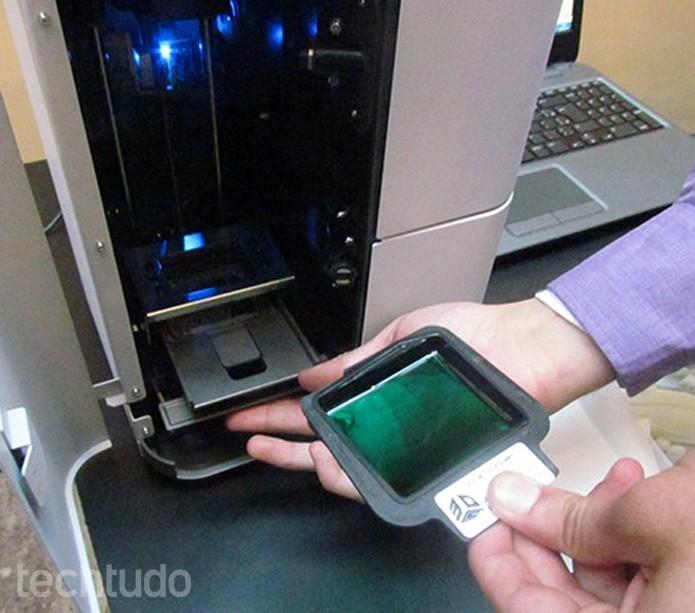 Cartuchos podem ser facilmente reabastecidos  (Foto: Paulo Alves/TechTudo)