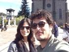 Helena Ranaldi e Allan Souza Lima curtem viagem romântica