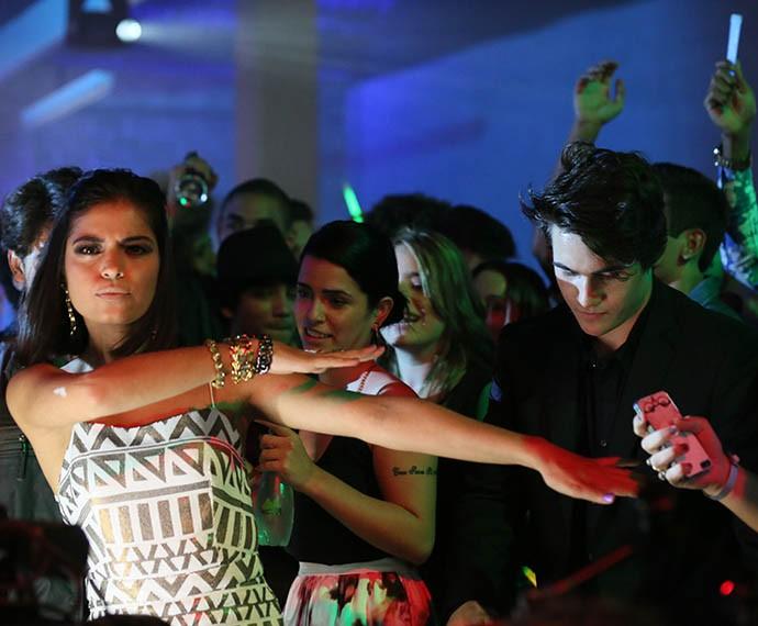 Cynthia lançando moda! (Foto: Isabella Pinheiro/Gshow)