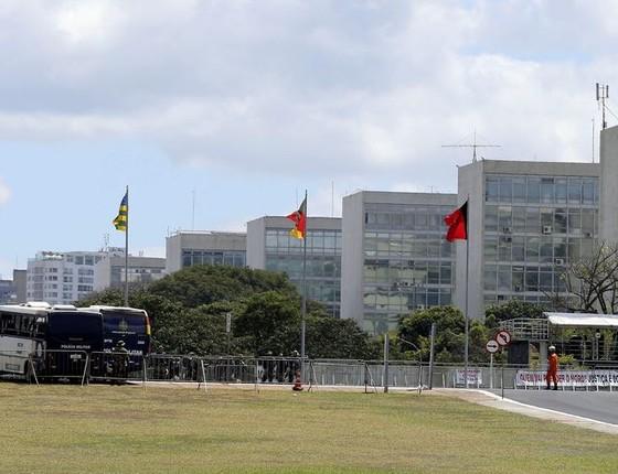 Esplanada dos Ministérios (Foto: Valter Campanato/Agência Brasil)