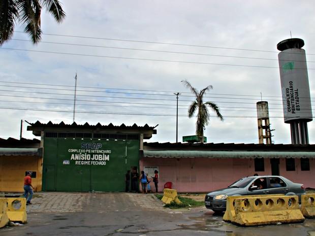 Presídio foi palco de rebelião mais violenta do Amazonas (Foto: Suelen Gonçalves/ G1 AM)