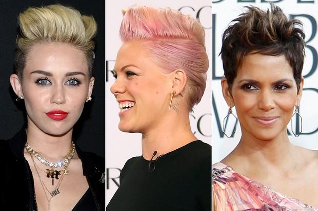 Charlize Theron e mais famosas preferem os cabelos curtinhos cabelos