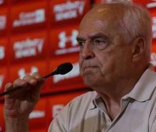 Leco Presidente do São Paulo (Foto: N.M/Futura Press)