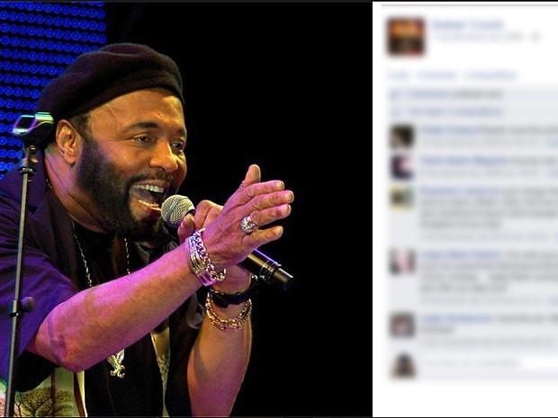 Premiado cantor gospel, Andraé Crouch, tinha 72 anos (Foto: Reprodução/Facebook Oficial Andraé Crouch)