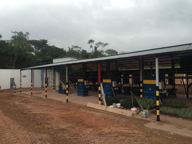 Usina irá permitir reciclagem na central de tratamento de resíduos (Foto: Divulgação / Gaby Comunicação)