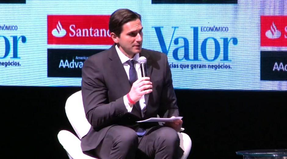 Frederic Kachar no Fórum Cidadão Global (Foto: Reprodução)