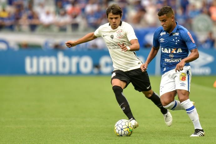 Cruzeiro x Corinthians  (Foto: Agência Estado)