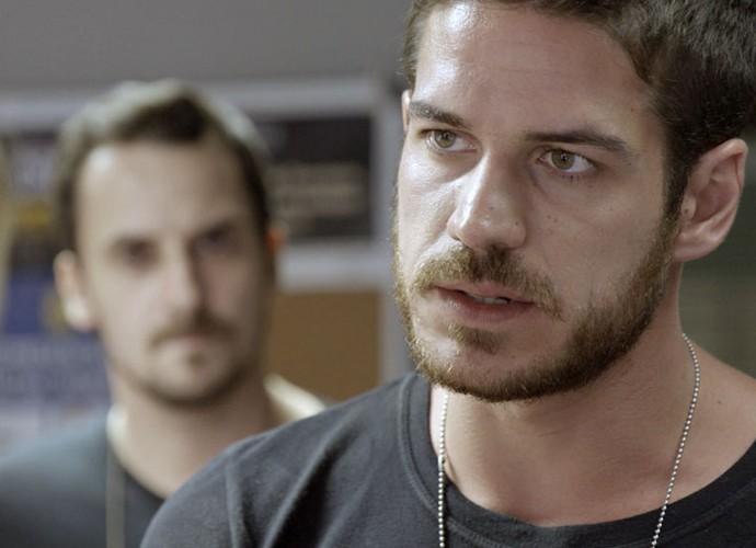 Será que Dante vai atender ao pedido da ex (Foto: TV Globo)