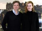 Nicole Kidman e Colin Firth lançam filme na Escócia