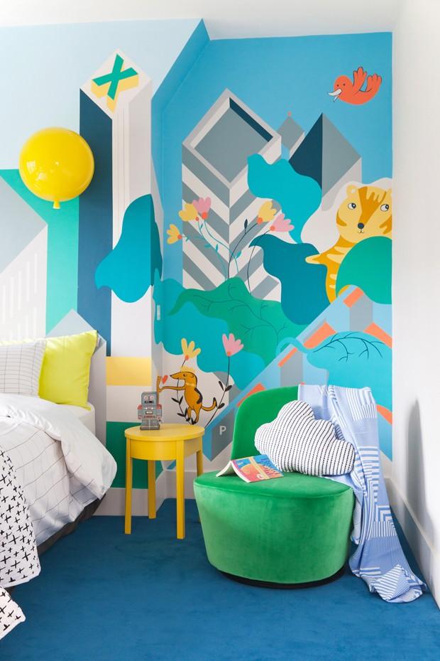 Décor do dia: quarto infantil que é colorido e duradouro (Foto: reprodução)