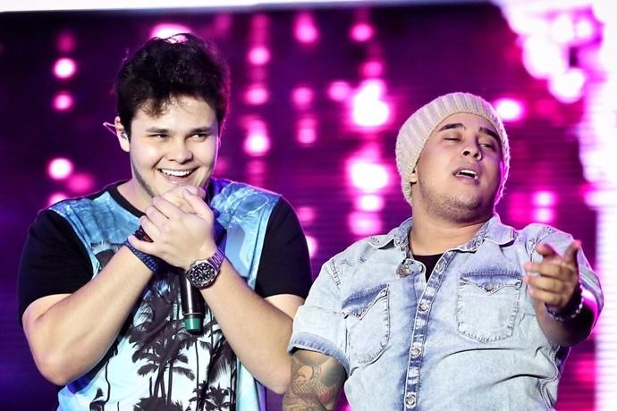 Matheus e Kauan embalam mais um Villa Mix em Fortaleza. (Foto: Divulgação)