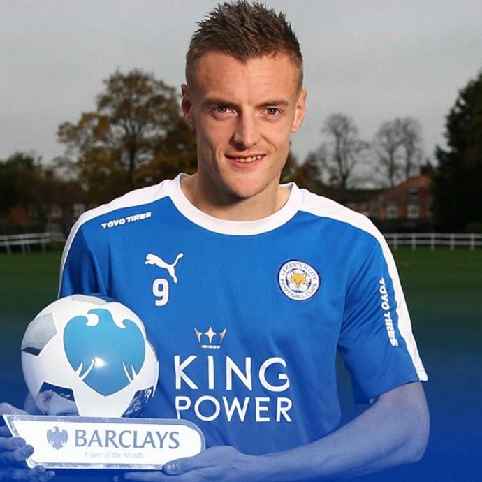 Jamie Vardy - Leicester (Foto: Reprodução/ Facebook)