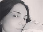 Tainá Müller mostra pela primeira vez o rostinho do filho: 'Meu pequeno'