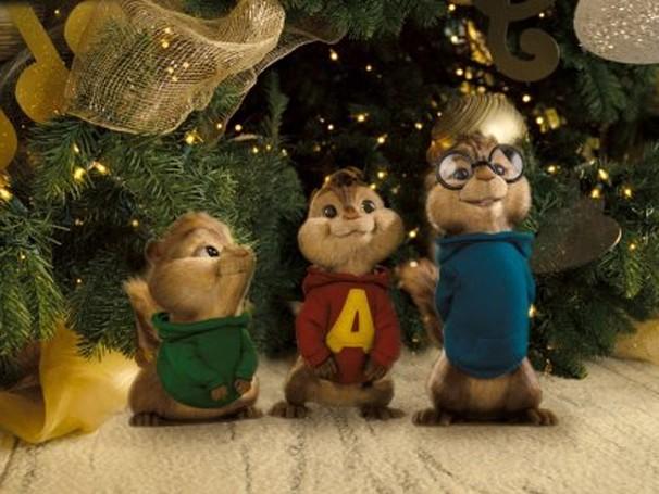 """""""Alvin e os esquilos"""" foi baseado em série de mesmo nome dos anos 50 (Foto: Divulgação)"""