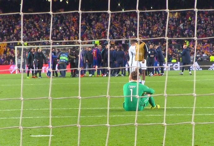 Kevin Trapp Barcelona PSG (Foto: Ivan Raupp)