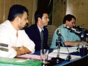 O ex-vereador de Americana, Alexandre Romano, ao centro, durante sessão ordinária (Foto: Câmara Municipal de Americana/Arquivo)