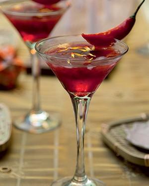 Drinque cor do pecado (Foto: Cacá Bratke/Casa e Jardim )
