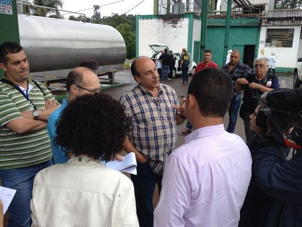 Promotor Mauro Rockenbach comanda ofensiva contra novo esquema no leite (Foto: Marjuliê Martini/Divulgação)