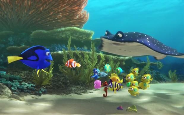 Cena de 'Procurando Dory', continuação de 'Procurando Nemo' (Foto: Reprodução/Pixar)