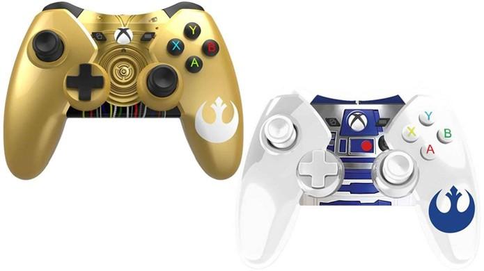 Xbox One recebe joysticks temáticos de Star Wars pela Power A (Foto: Divulgação)