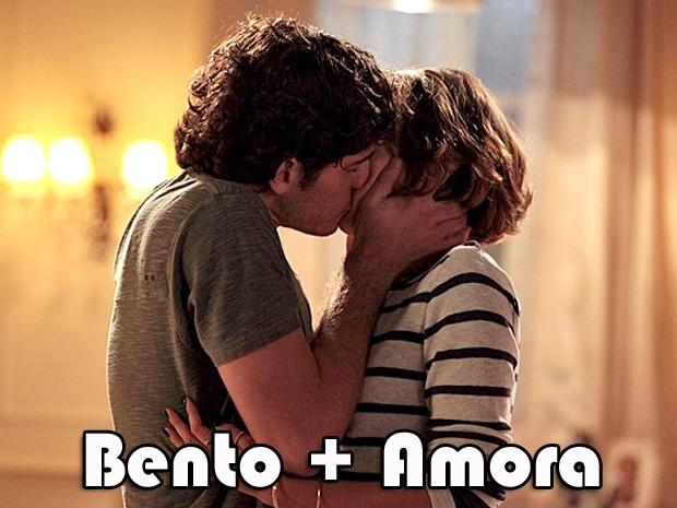 Bento e Amora? (Foto: Sangue Bom/TV Globo)